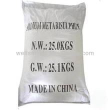 Sodium metabisulphite msds
