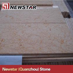 Polish beige marble tile for flooring