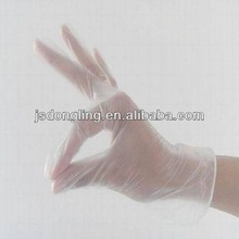 favorable price of light and soft Disposable clear pvc vinyl gant