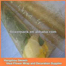Shimmer Flower Organza Fabric