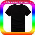 al por mayor más elegante de los hombres camiseta en blanco nuevo de la marca t camisa de china proveedor de prendas de vestir