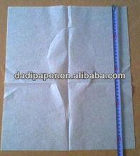 flushable paper toilet seat covers 1/2 fold