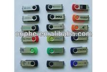 2013 Top selling swivel generic usb flash disk 4gb