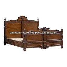 Solomon Carved Bed