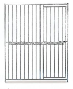 Dog Kennel Run Door Panel 1.5 x 1.84m Galvanised 8cm Tubelar Dog Cage