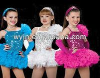 brazillian cheap beautiful dance dresses for girls