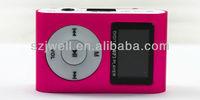 2014 Hot selling mini Cheap portable TF card MP3 music player