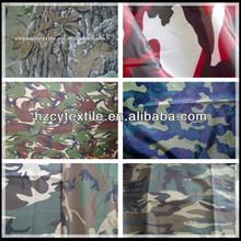 High quality waterproof 100% polyester taffeta camouflage fabric