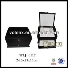Shenzhen Wood Velvet Ring Jewelry Box and Cases Hinge(SGS&BV)