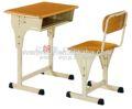 Bureau de l'école, tables et chaises d'écoles, chaise de bureau moulé conseil