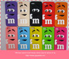 lovely MM bean opend mouth design silicon case for iphone 4s 5g