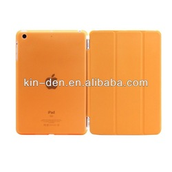 Ultra Slim Leather Flip Cover Case For iPad Air For iPad 5 Front&Back Smart Cover With High Quality