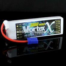 3000mAh 3S 30C Max 60C 11.1V EC5 lithium ion battery/lipo battery NANO TECH RC