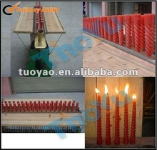 Semi-automatic low investment colour/white candle making machine