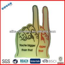 EVA foam cheering hand,EVA Cheering Foam Finger,Foam Hands for Sports fans