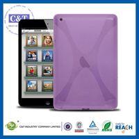 C&T New X-Shape TPU Cover for ipad mini retina,for ipad mini 2 cover
