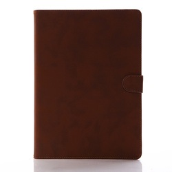 Luxury style premium pu leather case for ipad 5,retro book high quality leather case for ipad 5