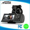 JPG Format/GPS /G-sensor 2.7inch Dual Camera Car Dvr with GPS