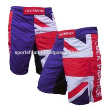 UK flag Custom Sublimation MMA fighting shorts,MMA Shorts, MMA for BOXING & BJJ