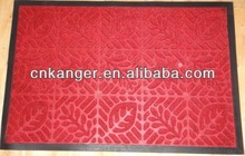 Rubber embossing carpet