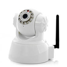 plug and play 720P wireless IR 10m wps function ip camera with sd card slot $50