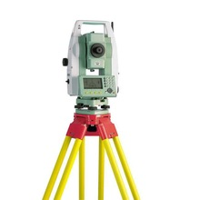 "Leica Flexline TS06 2"" R1000 Total Station w/ Dual Display Bluetooth & USB Connection For Land Surveying"