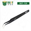BEST-729 Cheap soldering tweezer for repairing
