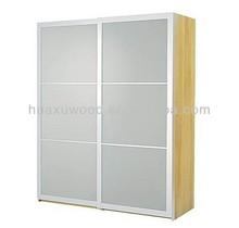 HX131120-MZ222 frosted glass sliding door wardrobe