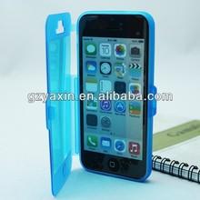Hot original flip tpu mobile phones cases for iphone 5/5s