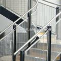 por inmersión en caliente de acero galvanizado de la estructura de las escaleras