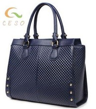 2014 famous tote PU brand compactor bags