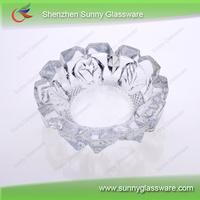 2013 hot selling glass ashtray cigarettes ashtray SG1025-3