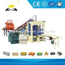 block machine QT4-15 construction sand and gravel production line
