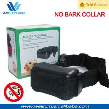 Adjustable automatic dog shock collar