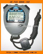 Countdown timer, 1/100 Sec. Stopwatch, flash alert