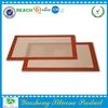 2014 fiberglass heat resistant silicone mat