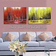 Stretched Decorative Canvas Wall Art