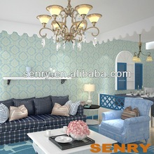 purple wallpaper light blue color wallcovering