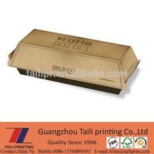 Hot sale Cardboard Hot dog Box branding / food packagings / *FB20131120-4