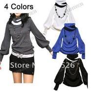 Wholesale New Fashion Lantern Sleeve Women's causal wear/apparel 7114