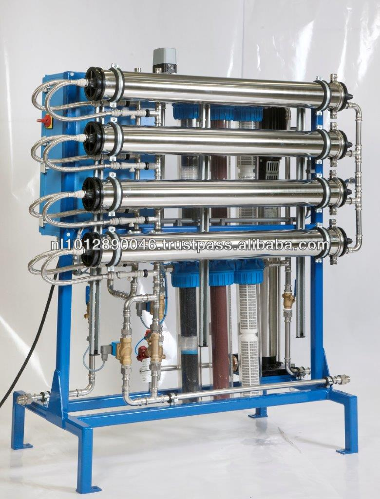 Industrial/domestic water filtration unit