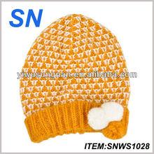 good quality cute acrylic beanie child crochet hat