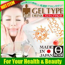 High grade placenta gel type drink very popular among the Japanese hot girls