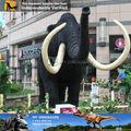 Meu dino- gigante de barro vivo modelo de animais vivos para a decoração do parque temático