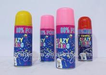 aerosol snow spray for party