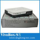 vivobox s5 dvb-s2 android 4.2 smart tv box dual core android tv box + dvb-s2 iks /sks ngara 3 decoder with air mouse