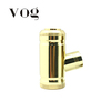 Chrome and Gold 18350 battery mod e-pipe mod for Wholesale
