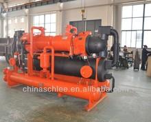 669kw capacità di raffreddamento impianto di trasformazione del latte