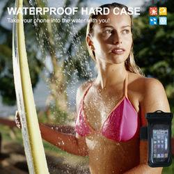 PVC+ABS armband waterproof bag
