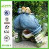 Gift Statue Decorative Garden Polyresin Frog